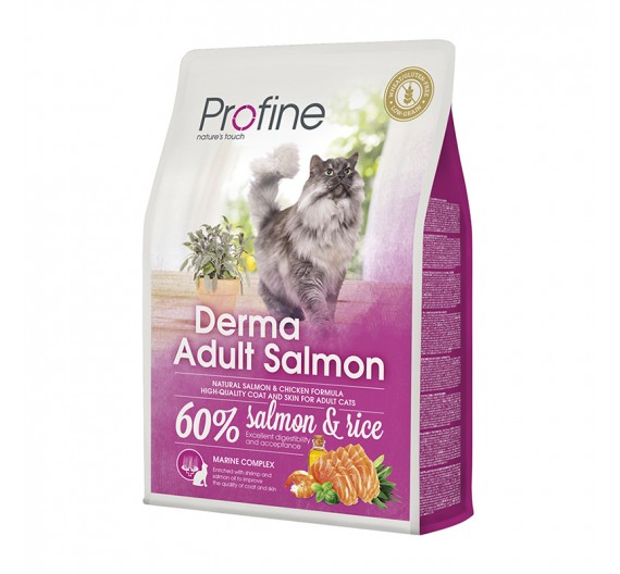 Profine Cat DermaSalmon & Rice 2Kgr
