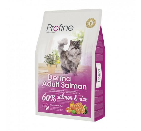 Profine Cat DermaSalmon & Rice 10Kgr