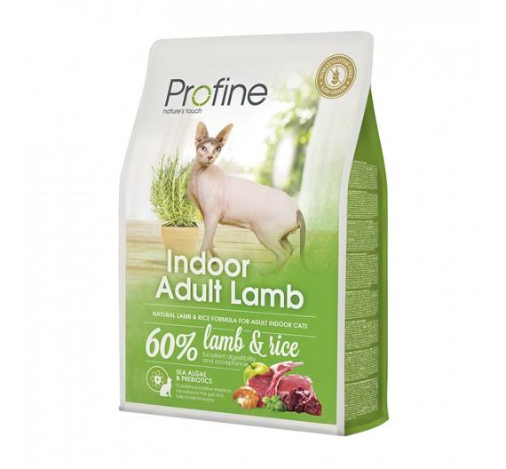Profine Cat Indoor Lamb & Rice 2Kgr