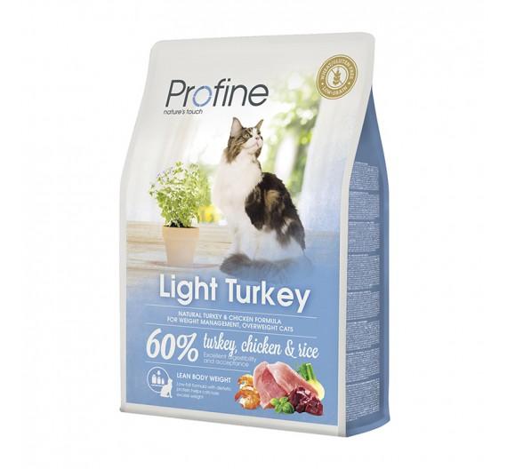 Profine Cat Light Turkey & Rice 2Kgr
