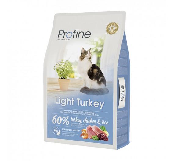 Profine Cat Light Turkey & Rice 10Kgr