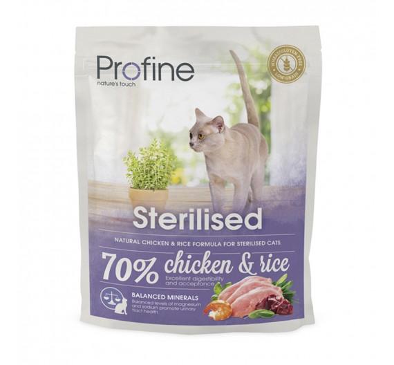 Profine Cat Sterilized Chicken & Rice 300gr