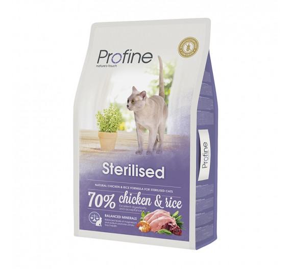 Profine Cat Sterilized Chicken & Rice 10Kgr