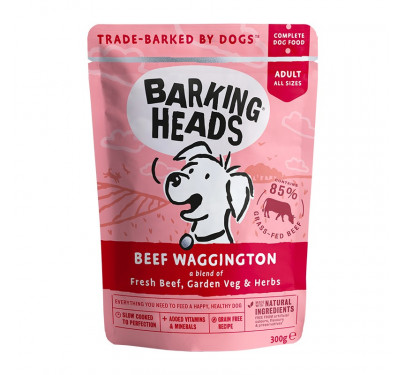 Barking Heads Wet Beef Waggington 300gr