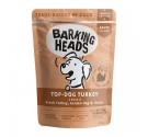 Barking Heads Wet Pouch Top Dog Turkey 300gr