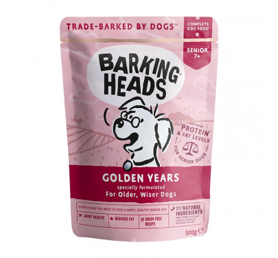 Barking Heads Wet Pouch Golden Years 300gr