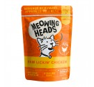 Meowing Heads Wet Paw Lickin Chicken 100gr