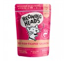 Meowing Heads Wet So Fish Ticated Salmon 100gr