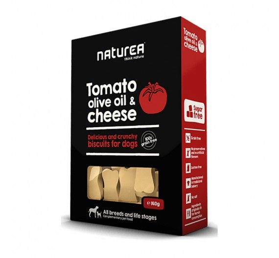 Naturea Biscuits Tomato, Olive Oil & Parmesan Cheese 230gr