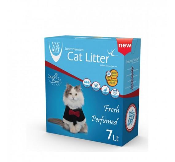 Ψιλή Άμμος Γάτας Van Cat Clinic Ultra Sensitive Clumping (Αντιβακτηριακή & Αρωματική) σε κουτί