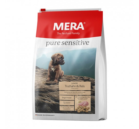 Meradog Pure Sensitive Junior Turkey & Rice 4kg