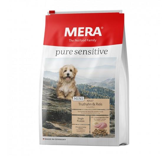 Meradog Pure Sensitive Mini Adult Turkey & Rice 1kg
