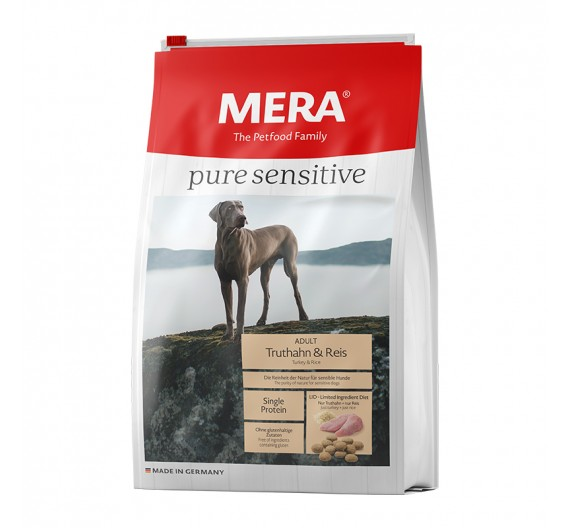 Meradog Pure Sensitive Turkey & Rice 4kg