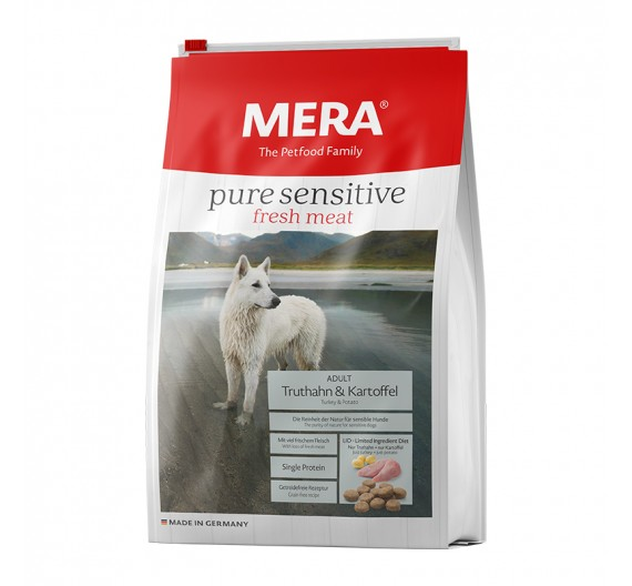 Meradog Pure Sensitive Grain-Free Fresh Meat Turkey & Potato 12.5kg