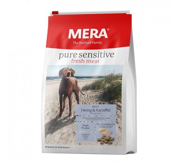 Meradog Pure Sensitive Grain-Free Fresh Meat Hering & Potato 4kg