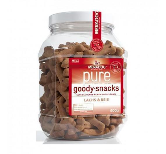 Meradog Pure Sensitive Grain-Free Goody Snack Salmon & Rice 600g