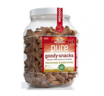 Meradog Pure Sensitive Grain-Free Goody Snack Turkey & Potato 600g