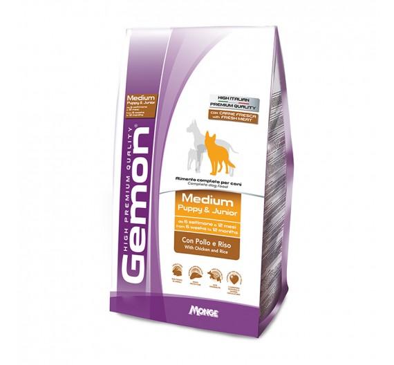 Gemon Puppy Medium Chicken & Rice 15kg