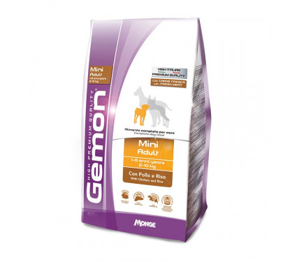 Gemon Dog Adult Mini Chicken & Rice 3kg