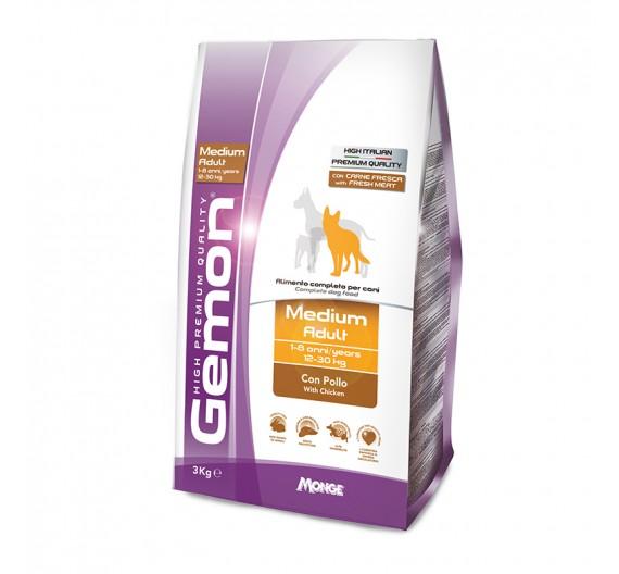 Gemon Dog Adult Medium Chicken 3kg