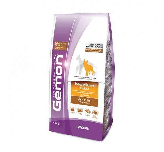 Gemon Dog Adult Medium Chicken 15kg