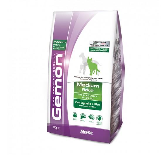 Gemon Dog Adult Medium Lamb & Rice 3kg
