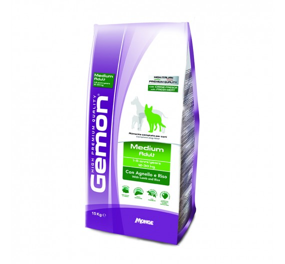 Gemon Dog Adult Medium Lamb & Rice 15kg