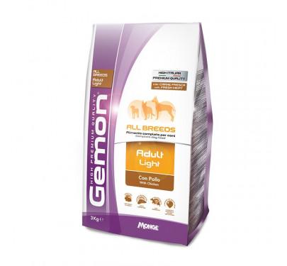 Gemon Dog Adult Light All Breeds Chicken 3kg