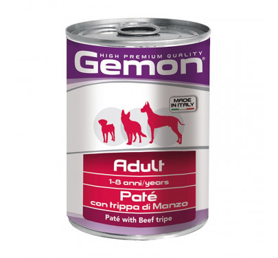Gemon Dog Πατέ Adult Beef Tripe 400g
