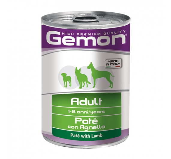 Gemon Dog Πατέ Adult Lamb 400g
