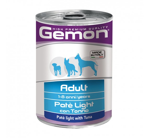 Gemon Dog Πατέ Light Tuna 400g