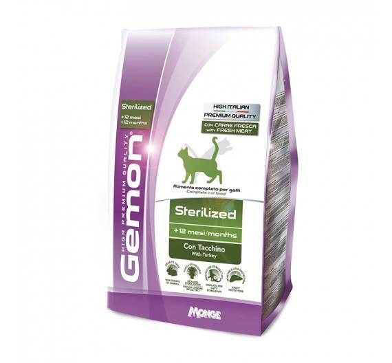 Gemon Cat Light Sterilized Turkey 400g
