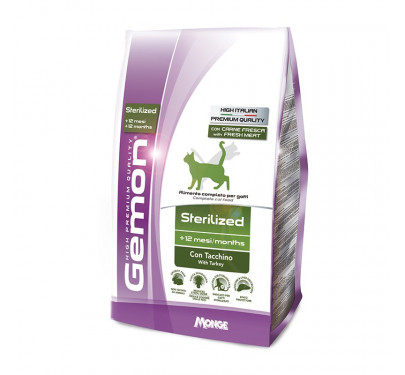 Gemon Cat Light Sterilized Turkey 1.5kg