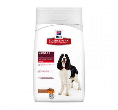 Hills SP Canine Adult Advanced Fitness Lamb & Rice 12kg