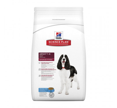 Hills SP Canine Adult Advanced Fitness Tuna & Rice 12kg