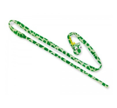 NOBBY Λούτρινο παιχνίδι, rod snake, green