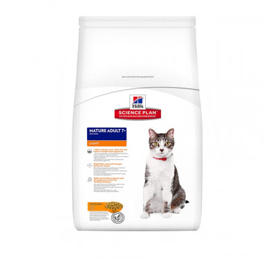 Hills SP Feline Mature Adult Active Longevity Chicken Light 1.5kg