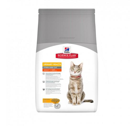Hills SP Feline Adult Urinary & Sterilized Chiken 3kg