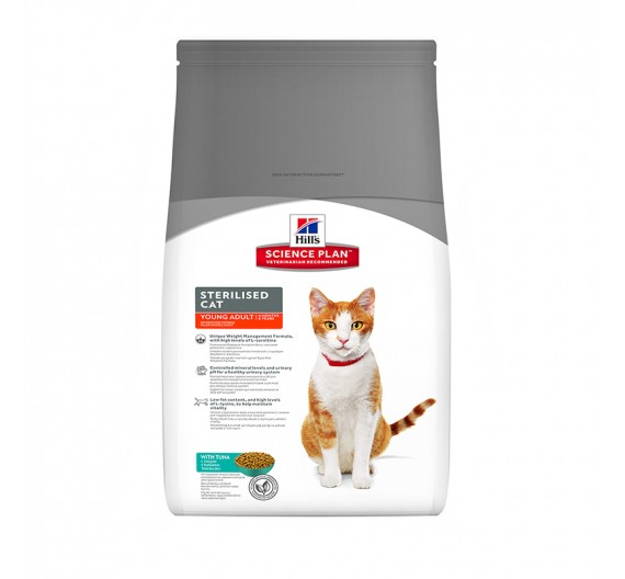 Hills SP Feline Young Adult Sterilized Cat Tuna 300g
