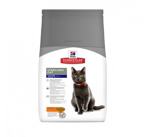 Hills SP Feline Mature Adult Sterilized Cat Chicken 3.5kg