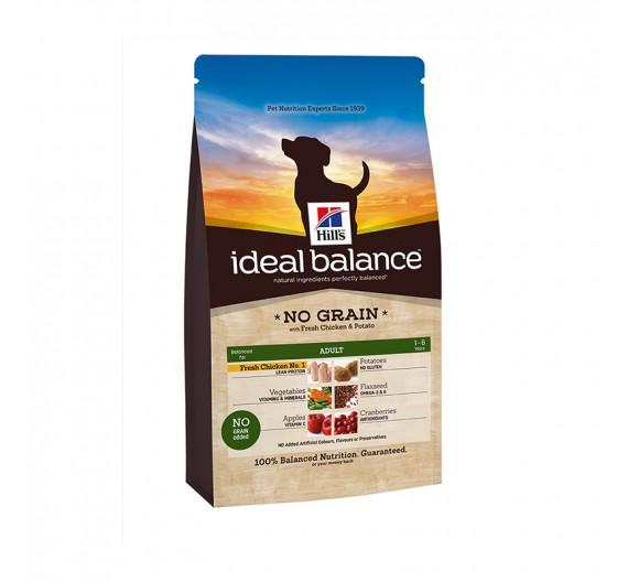Hills IB Canine Adult No Grain Chicken & Potato 12kg