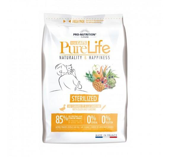 Flatazor Pure Life Cat Sterilized 8kg