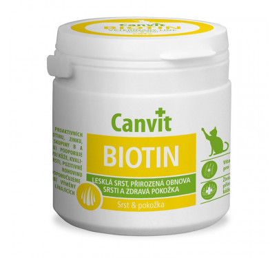 CANVIT Biotin Cat 100gr/cca 100 Tabs