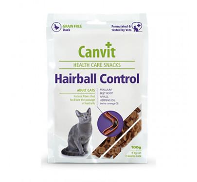 CANVIT Σνακ Γάτας Hairball 100gr