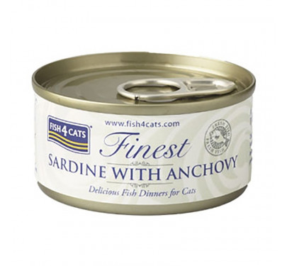 Fish4Cats Sardine & Anchovy 70gr