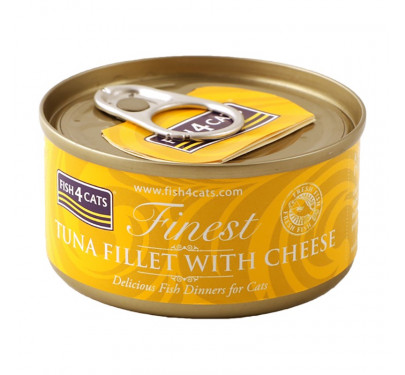 Fish4Cats Tuna Fillet & Cheese 70gr