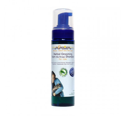 Arava Herbal Grooming Foam Shampoo Για Γάτες 250ml