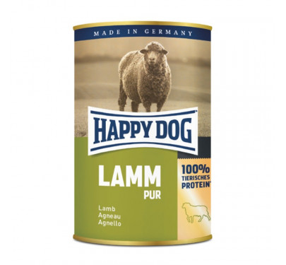Happy Dog Κονσέρβα με Αρνί 12x400gr