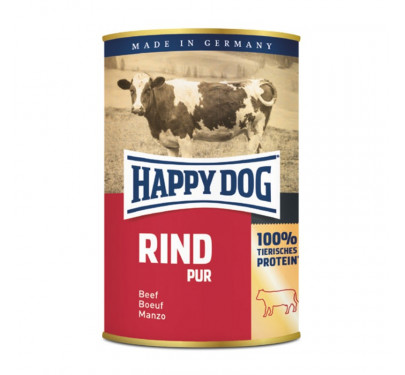 Happy Dog Κονσέρβα με Βοδινό 12x400gr