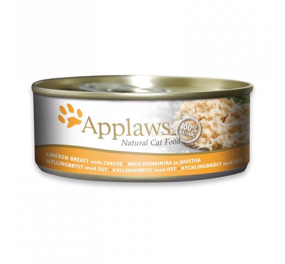 Applaws Κοτόπουλο & Τυρί 70gr
